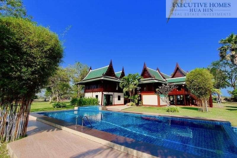 Thai Teak Home For Sale Hua Hin Cha-Am | HUA HIN REAL ESTATE FOR SALE | CHA AM REAL ESTATE FOR SALE | HOTELS FOR SALE THAILAND