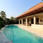 Luxury Bali-Style Pool Villa w/ Lush Gardens & Mountain Views Near Beach For Sale