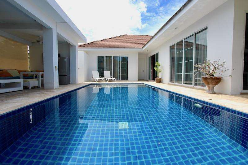 3 bedroom pool villa for rent in hua hin thailand | West Hua Hin House For Rent