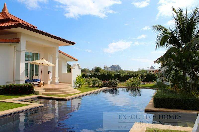 HUA HIN HOME FOR SALE BANYAN RESORT | banyan resort villa for sale hua hin | hua hin real estate